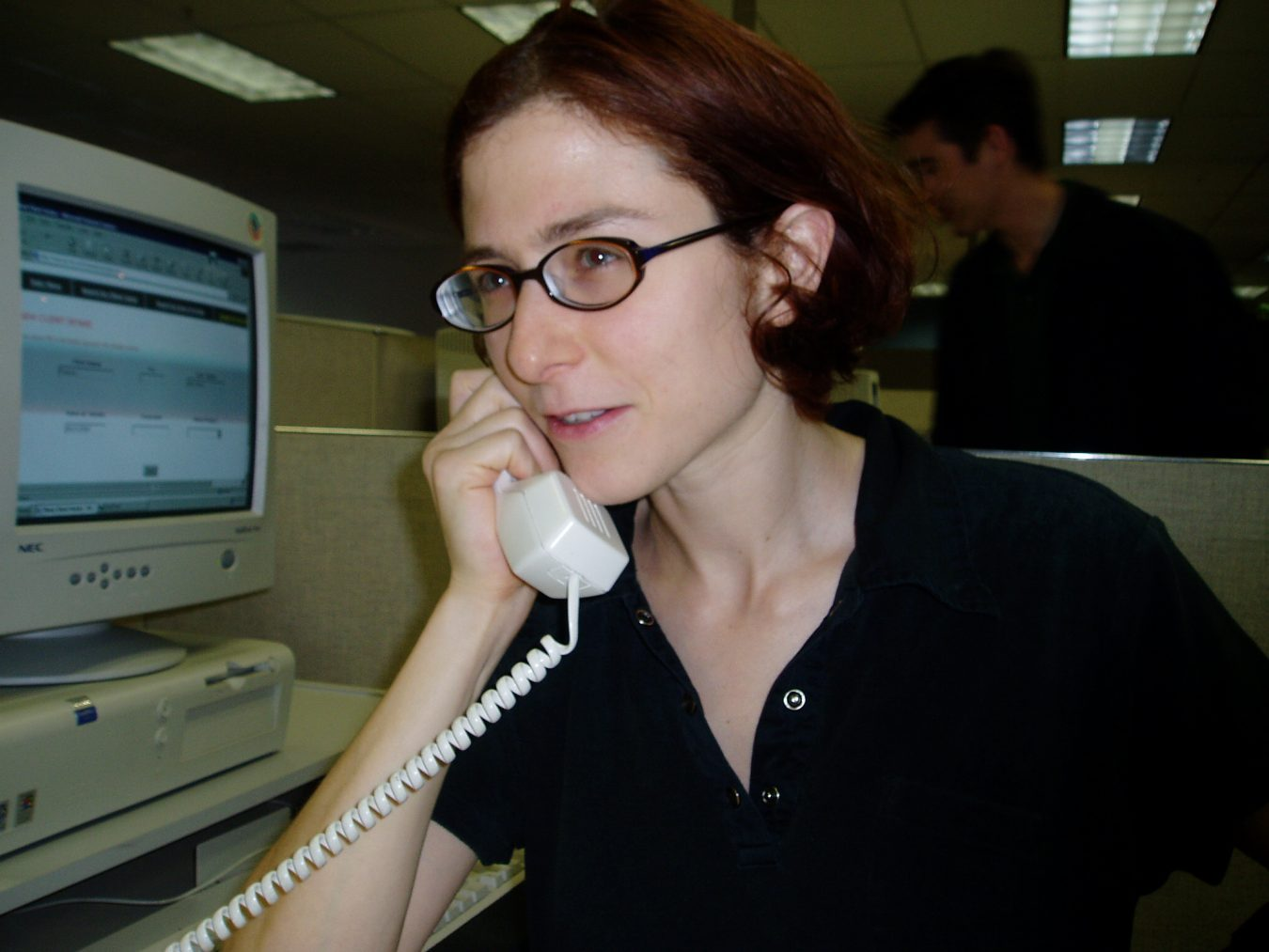clinic or helpline operator