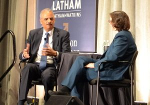 Eric Holder: 'Legal Aid at Work has your back'