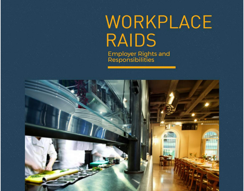 5 things employers should know about workplace raids