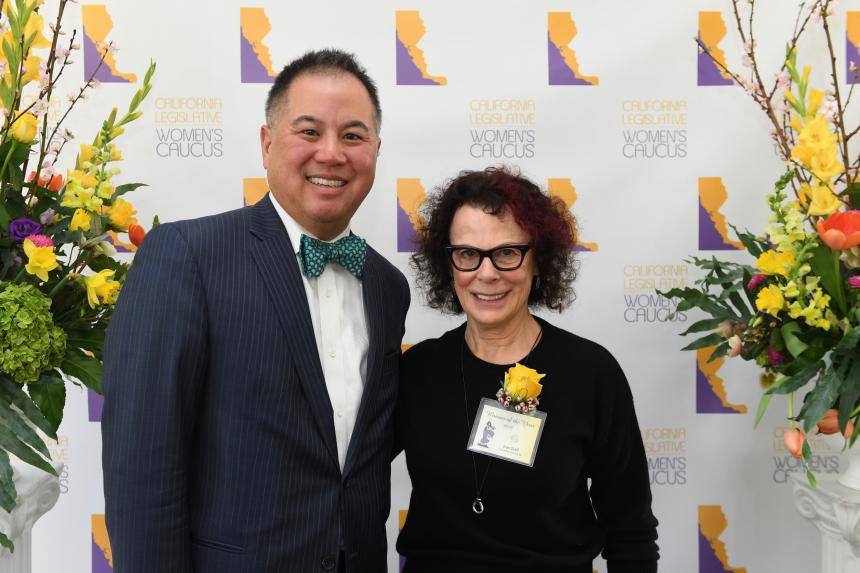 """LAAW President Joan Graff Receives """"Woman of the Year"""" Award at State Capitol"""
