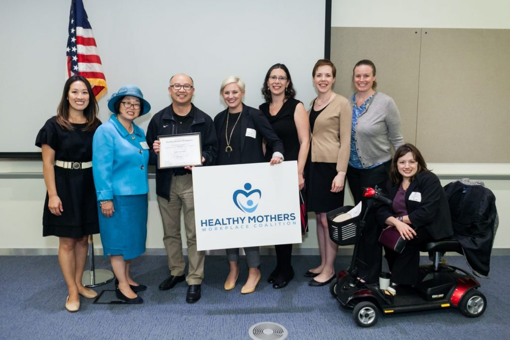 Healthy Mothers Workplace Coalition Receives National Recognition, 6th Annual Awards Program Launched