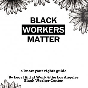 Black Workers Matter Zine A Know Your Rights Guide